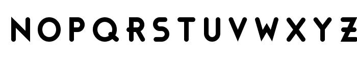 Bonus Base Font UPPERCASE