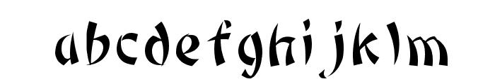 Bonzai Regular Font LOWERCASE