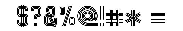 Bonzer - Herzogenaurach Font OTHER CHARS