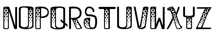 BooBooKitty Font UPPERCASE
