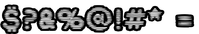 BoobToobOpen Font OTHER CHARS