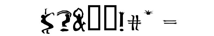 Boogieman Font OTHER CHARS