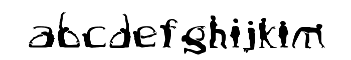 Boogieman Font LOWERCASE