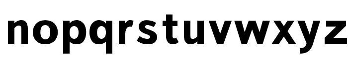 Bookvar Bold Font LOWERCASE