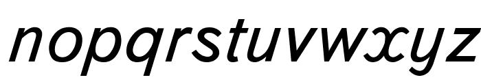 Bookvar Italic Font LOWERCASE