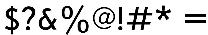 Bookvar Font OTHER CHARS