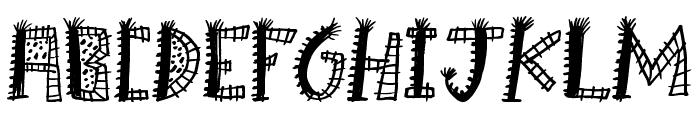 Boom Shanker Font UPPERCASE