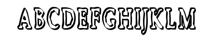 Boosta Font UPPERCASE