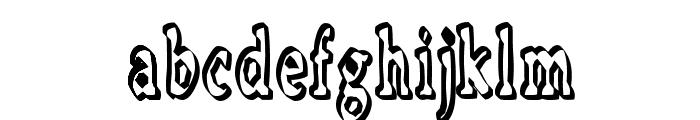 Boosta Font LOWERCASE
