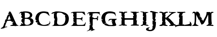 Booter - Five Zero Font UPPERCASE