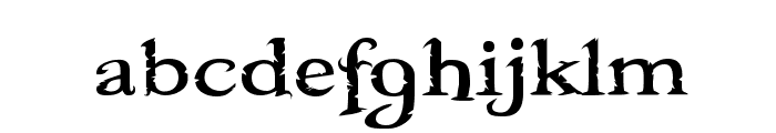 Booter - Five Zero Font LOWERCASE