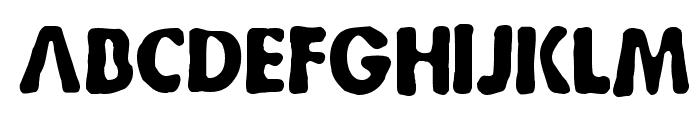 Bootleg Font UPPERCASE