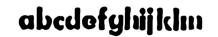 Bootleg Font LOWERCASE