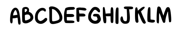 Boquer?n Regular Font UPPERCASE