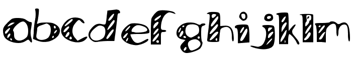 Bored_Work_Doodles Font LOWERCASE