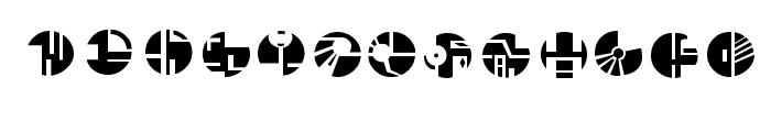 Borg Font LOWERCASE