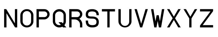 Borgen Bold Font UPPERCASE