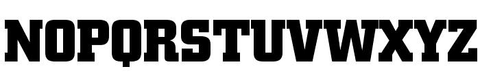 Borghs Normal Font UPPERCASE