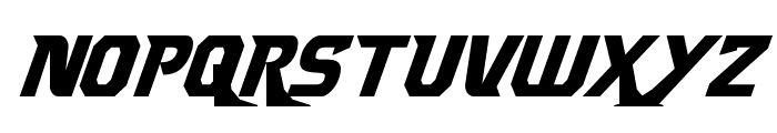 Borgsquad Condensed Italic Font LOWERCASE