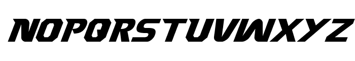 Borgsquad Italic Font UPPERCASE