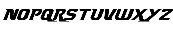 Borgsquad Italic Font LOWERCASE