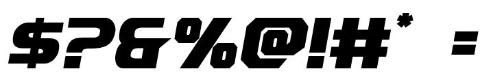 Borgsquad Font OTHER CHARS