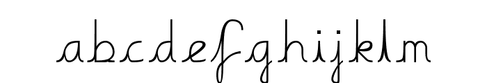 Boring Boring Font LOWERCASE