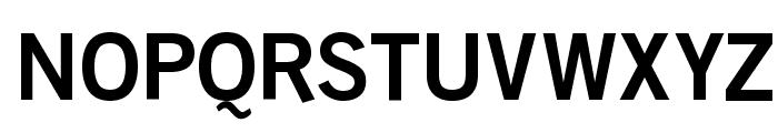 BoringSansBold Font UPPERCASE