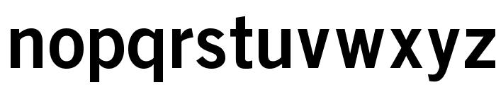 BoringSansBold Font LOWERCASE