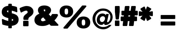 BorisBlackBloxx Font OTHER CHARS