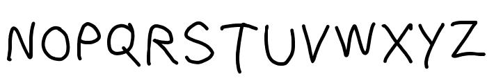 Bork Bork Font UPPERCASE