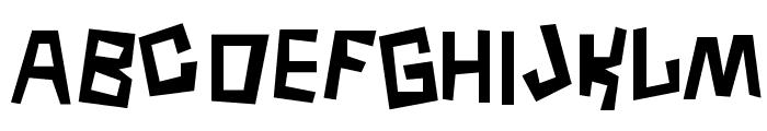 Borneo Font LOWERCASE