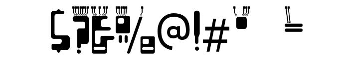 Boron-Regular Font OTHER CHARS