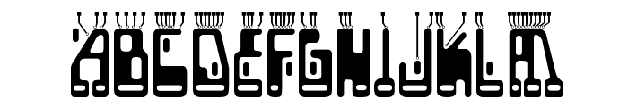 Boron-Regular Font UPPERCASE