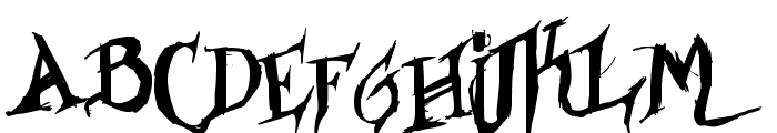 Borracho & Loko Font LOWERCASE