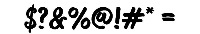 Bosk Font OTHER CHARS