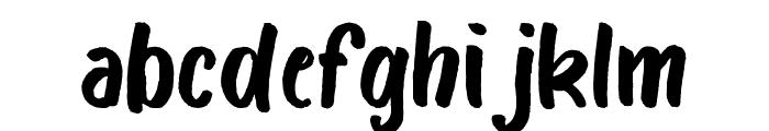 Bosk Font LOWERCASE