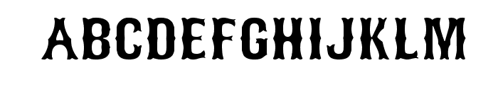 Bosox Revised Font UPPERCASE