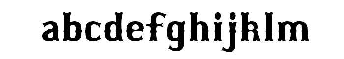 Bosox Revised Font LOWERCASE