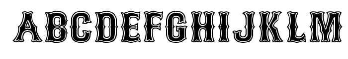 Bosox SemiBold Font UPPERCASE