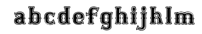 Bosox SemiBold Font LOWERCASE