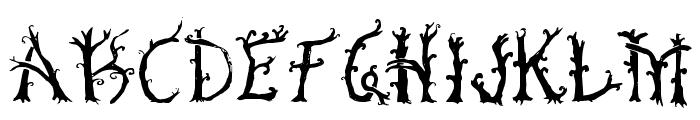 Bosque Font UPPERCASE