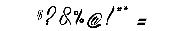 Bostella? Font OTHER CHARS