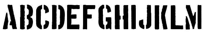 Boston Traffic Font LOWERCASE