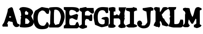 Botched Vasectomy Font UPPERCASE
