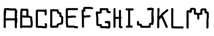 Boten Anna Regular Font UPPERCASE