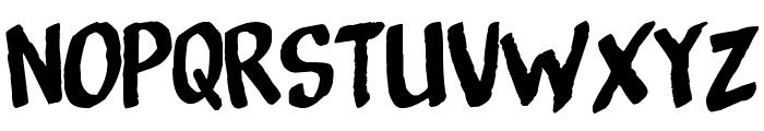 Bottenbreker T.V. Font UPPERCASE