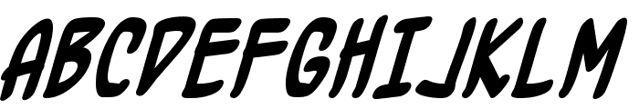 BottleRocket BB Bold Font UPPERCASE