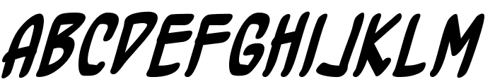 BottleRocket BB Bold Font LOWERCASE