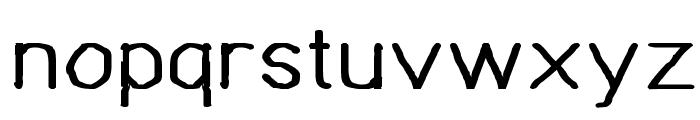 Bou Handwriting Font LOWERCASE